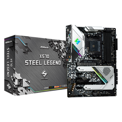 AsRock X570M Steel Legend
