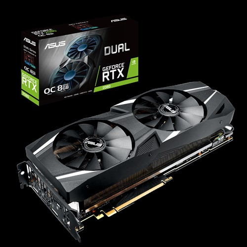ASUS Dual GeForce RTX 2080 OC 8GB