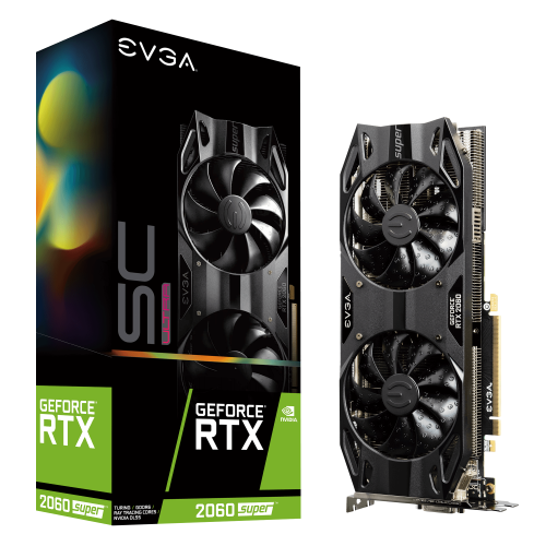 EVGA GeForce RTX 2060 Super SC Ultra Gaming 8GB